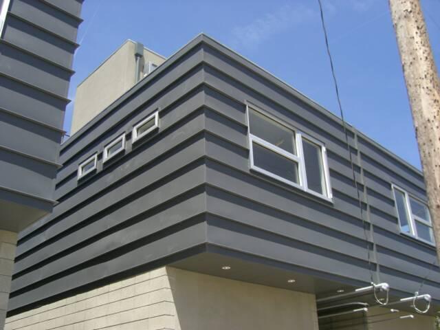 Horizontal Metal Siding House Plans