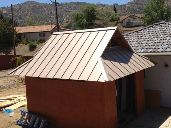 Bonderized Flat Seam Roof West Los Angeles