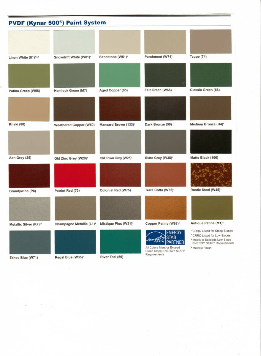 Metal-Roof-Color-Chart